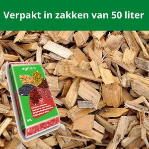 Houtsnippers Blanco 500 liter
